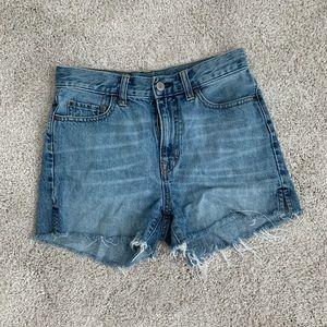 GAP High Rise Cutoff Shorts